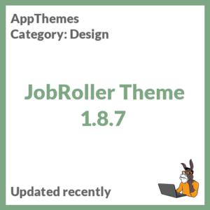 JobRoller Theme 1.8.7