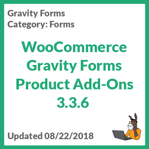 WooCommerce Gravity Forms Product Add-Ons 3.3.6