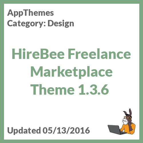 HireBee Freelance Marketplace Theme 1.3.6