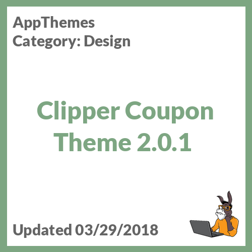 Clipper Coupon Theme 2.0.1