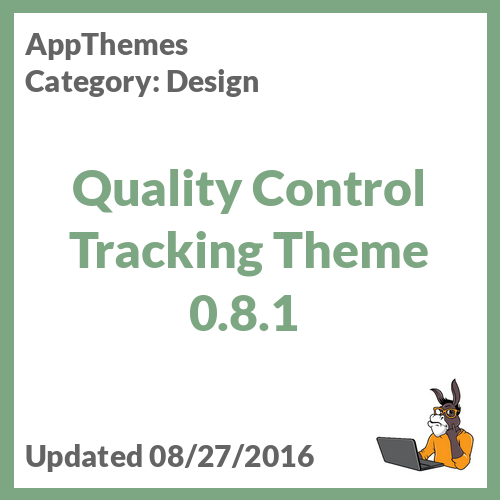 Quality Control Tracking Theme 0.8.1