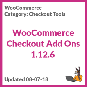 WooCommerce Checkout Add Ons 1.12.6