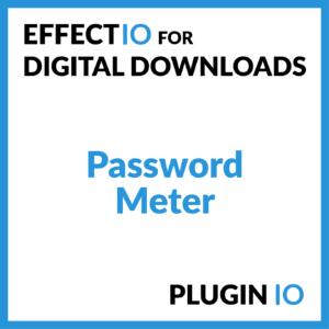 Easy Digital Downloads - Password Meter