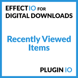 Digital Downloads Recently Viewed Items
