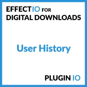 Digital Downloads User History