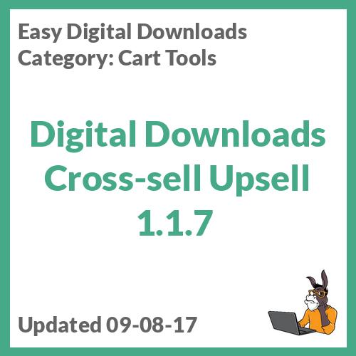 Digital Downloads Cross-sell Upsell 1.1.7