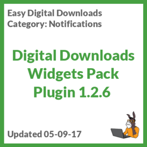 Digital Downloads Widgets Pack Plugin 1.2.6