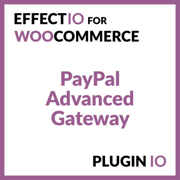 WooCommerce PayPal Advanced Gateway