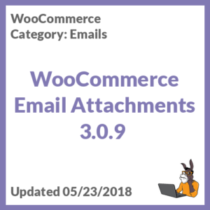 WooCommerce Email Attachments 3.0.9