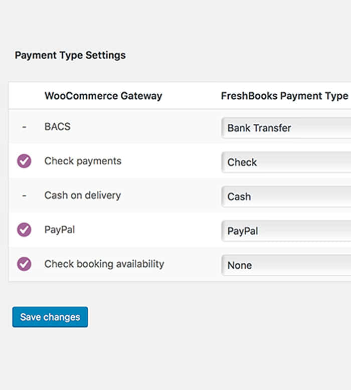 WooCommerce-Freshbooks_payment-type-otions