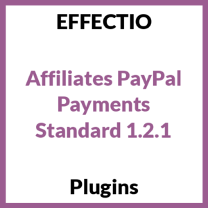 Affiliates PayPal Payments Standard