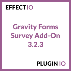 Gravity Forms Survey Add-On