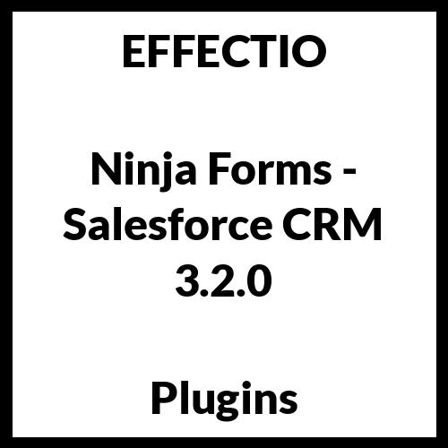 Ninja Forms - Salesforce CRM