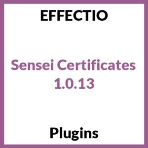 Sensei Certificates