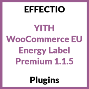 YITH WooCommerce EU Energy Label allows you to assign EU Energy Labels to your products: show the Energy Label class through a badge on your products and provide the whole Energy Label through a tooltip.
