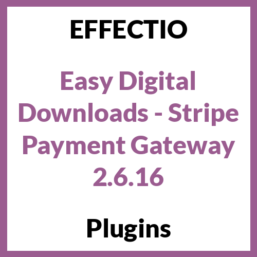 Easy Digital Downloads - Stripe Payment Gateway
