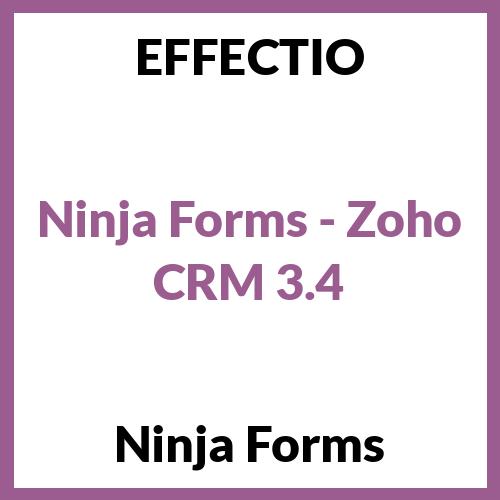 Ninja Forms - Zoho CRM