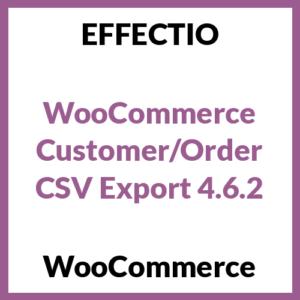 WooCommerce Customer/Order CSV Export