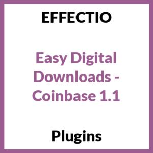 Easy Digital Downloads - Coinbase