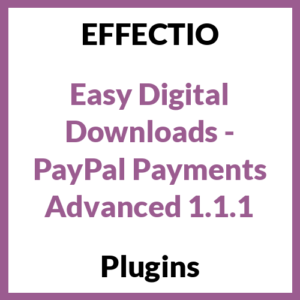 Easy Digital Downloads - PayPal Payments Advanced