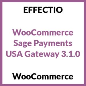WooCommerce Sage Payments USA Gateway