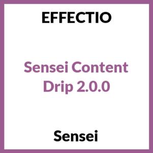 Sensei Content Drip