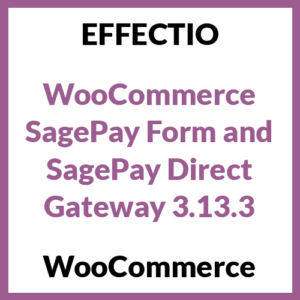 WooCommerce SagePay Form and SagePay Direct Gateway