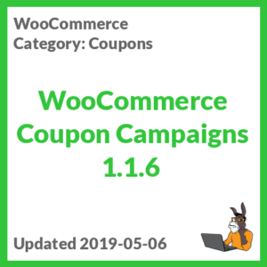 WooCommerce Coupon Campaigns 1.1.6