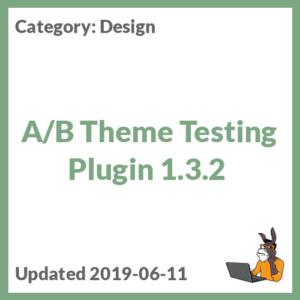 A/B Theme Testing Plugin 1.3.2