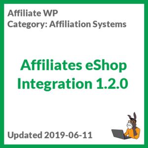 Affiliates eShop Integration 1.2.0