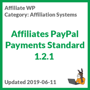 Affiliates PayPal Payments Standard 1.2.1