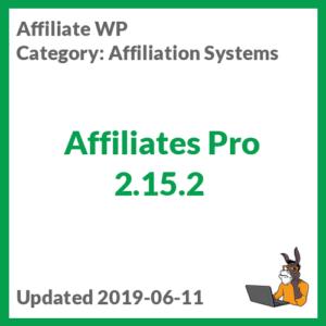 Affiliates Pro 2.15.2