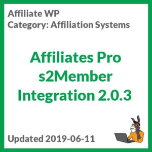 Affiliates Pro s2Member Integration 2.0.3