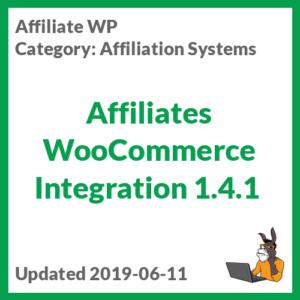 Affiliates WooCommerce Integration 1.4.1