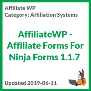 AffiliateWP - Affiliate Forms For Ninja Forms 1.1.7