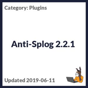 Anti-Splog 2.2.1