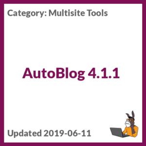 AutoBlog 4.1.1