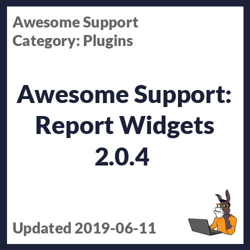 Awesome Support: Report Widgets 2.0.4