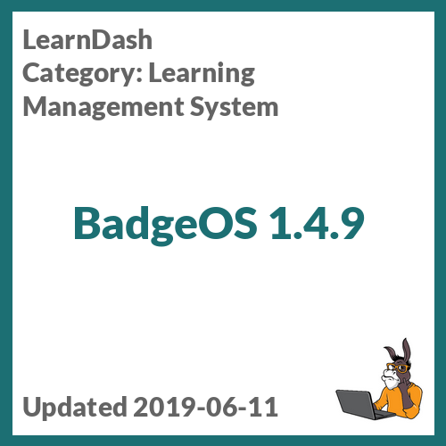 BadgeOS 1.4.9