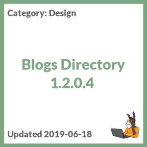 Blogs Directory 1.2.0.4