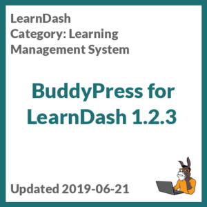 BuddyPress for LearnDash 1.2.3
