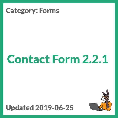 Effectio Contact Form 2 2 1
