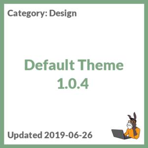 Default Theme 1.0.4