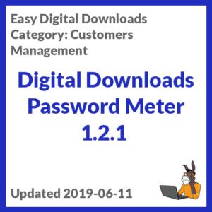 Digital Downloads Password Meter 1.2.1