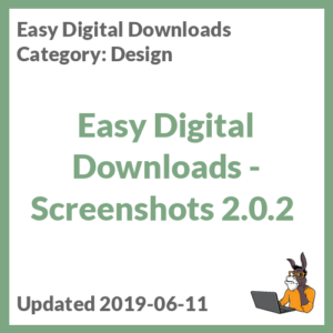 Easy Digital Downloads - Screenshots 2.0.2