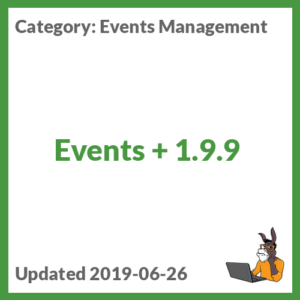 Events + 1.9.9