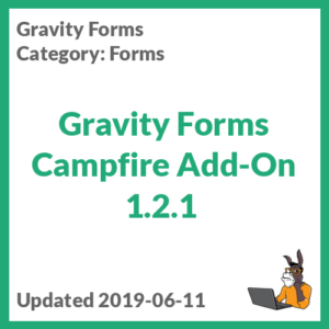 Gravity Forms Campfire Add-On 1.2.1