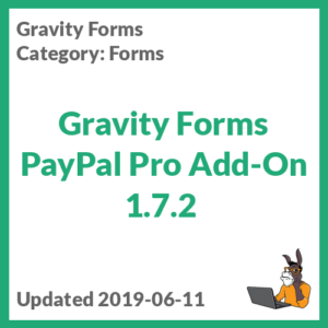 Gravity Forms PayPal Pro Add-On 1.7.2