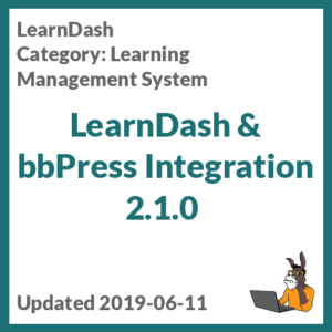 LearnDash & bbPress Integration 2.1.0