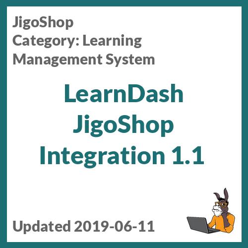 LearnDash JigoShop Integration 1.1